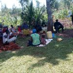 The Water Project: Asimuli Community, John Omusembi Spring -  Training