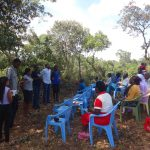 The Water Project: Shitirira Community, Peninah Spring -  Training
