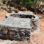 The Water Project: Katuluni Community C -  Well Progress