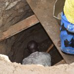 The Water Project: Masaani Community A -  Well Construction