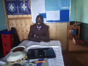 The Water Project:  Principal Wanjala