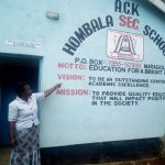 The Water Project: Hombala Secondary School -  School