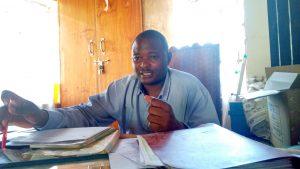 The Water Project:  Isaac Khaguli
