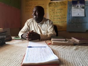 The Water Project:  Headteacher Aywa Agevi