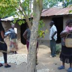 The Water Project: Emukangu Community, Okhaso Spring -  Meeting Community Members