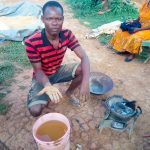The Water Project: Shisere Community, Richard Okanga Spring -  Searching For Gold