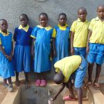 The Water Project: Lugango Primary School -  Finished Tank