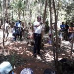 The Water Project: Upper Visiru Community, Wambosani Spring -  Solar Disinfection Training