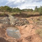 The Water Project: Ngitini Community B -  Trenching