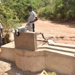 The Water Project: Katuluni Community C -  Pump Installation