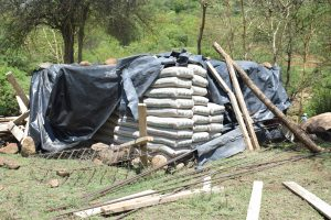 The Water Project:  Materials We Delivered