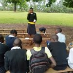 The Water Project: Lwanda Secondary School -  Dental Hygiene Training