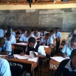 The Water Project: Hombala Secondary School -  Students In Class