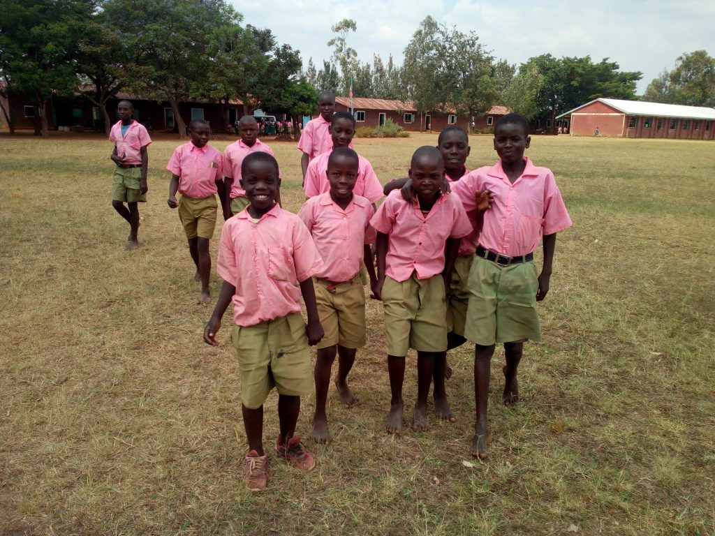 The Water Project : 5-kenya19034-students