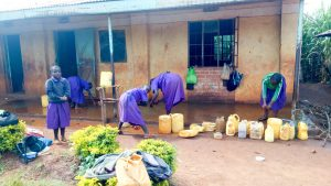 The Water Project:  Washing Classrooms After Class