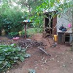 The Water Project: Shihungu Community, Shihungu Spring -  Backyard