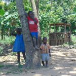 The Water Project: Emukangu Community, Okhaso Spring -  Community Children