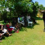 The Water Project: Koloch Community, Solomon Pendi Spring -  Handwashing Training