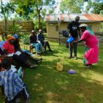 The Water Project: Koitabut Community, Henry Kichwen Spring -  Handwashing Training
