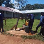 The Water Project: Musasa Secondary School -  Seasonal Hatch Well At School