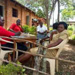 The Water Project: Ibwali Primary School -  Teachers On Lunch Break