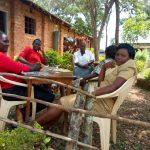 The Water Project: Ibwali Primary School -  Teachers On Lunch Break