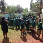 The Water Project: Isulu Primary School -  Toothbrushing Training
