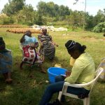The Water Project: Emaka Community, Ateka Spring -  Dental Hygiene Training