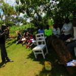 The Water Project: Koloch Community, Solomon Pendi Spring -  Dental Hygiene Training