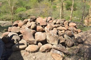 The Water Project:  Stones Collected By Community