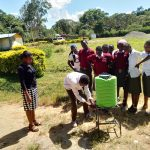 The Water Project: Kaimosi Demonstration Secondary School -  Handwashing Training
