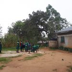 The Water Project: Ebutenje Primary School -  Students Drying Maize