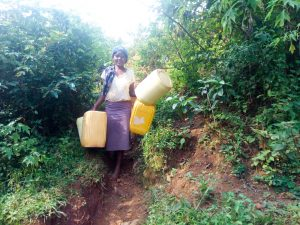 The Water Project:  Carrying Containers