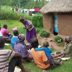 The Water Project: Shirugu Community, Jeremiah Mashele Spring -  Training