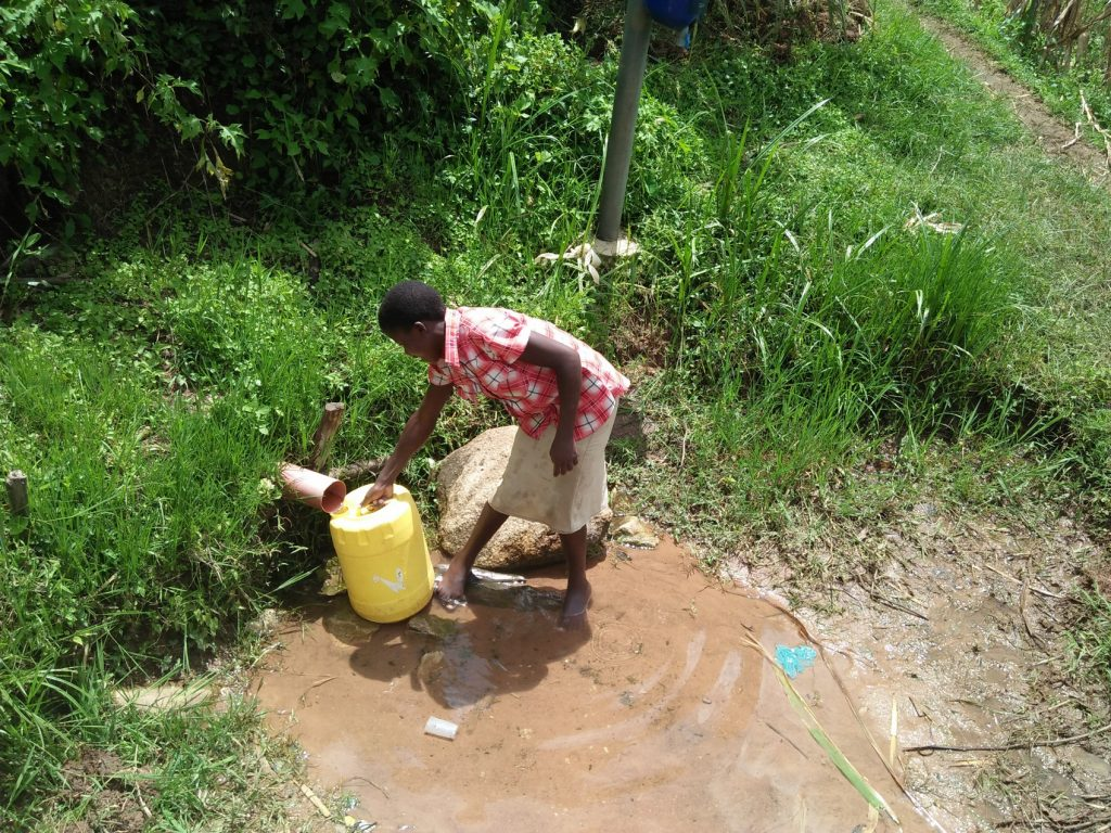 The Water Project : 8-kenya19113-fetching-water