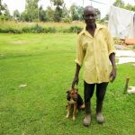 The Water Project: Shisere Community, Richard Okanga Spring -  A Man And His Dog