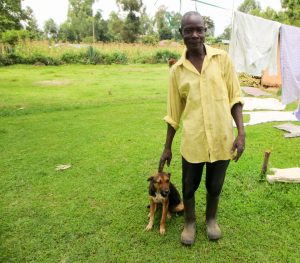 The Water Project:  A Man And His Dog
