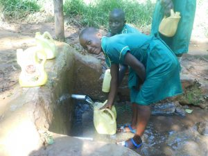 The Water Project:  Fetching Water In Community