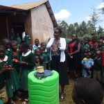 The Water Project: Isulu Primary School -  Handwashing Training