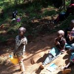The Water Project: Chepnonochi Community, Chepnonochi Spring -  Handwashing Training