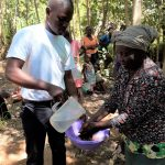 The Water Project: Upper Visiru Community, Wambosani Spring -  Handwashing Training