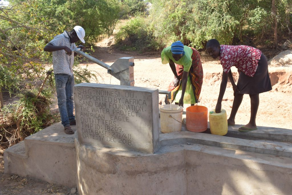 The Water Project : 9-kenya18209-flowing-water