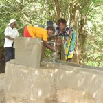 The Water Project: Kithumba Community C -  Flowing Water
