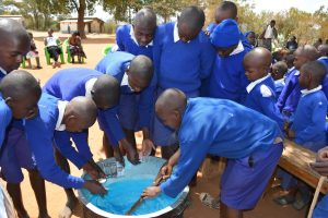 The Water Project:  Soap Training