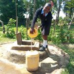 The Water Project: Nambilima Secondary School -  Fetching Water
