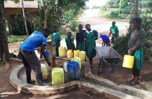 The Water Project:  Fetching Water From The Community