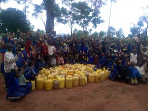 The Water Project:  Pupils With Jerrycans