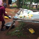 The Water Project: Kitumba Primary School -  Washing Dish