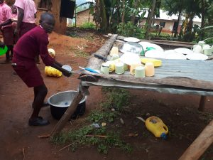 The Water Project:  Washing Dish