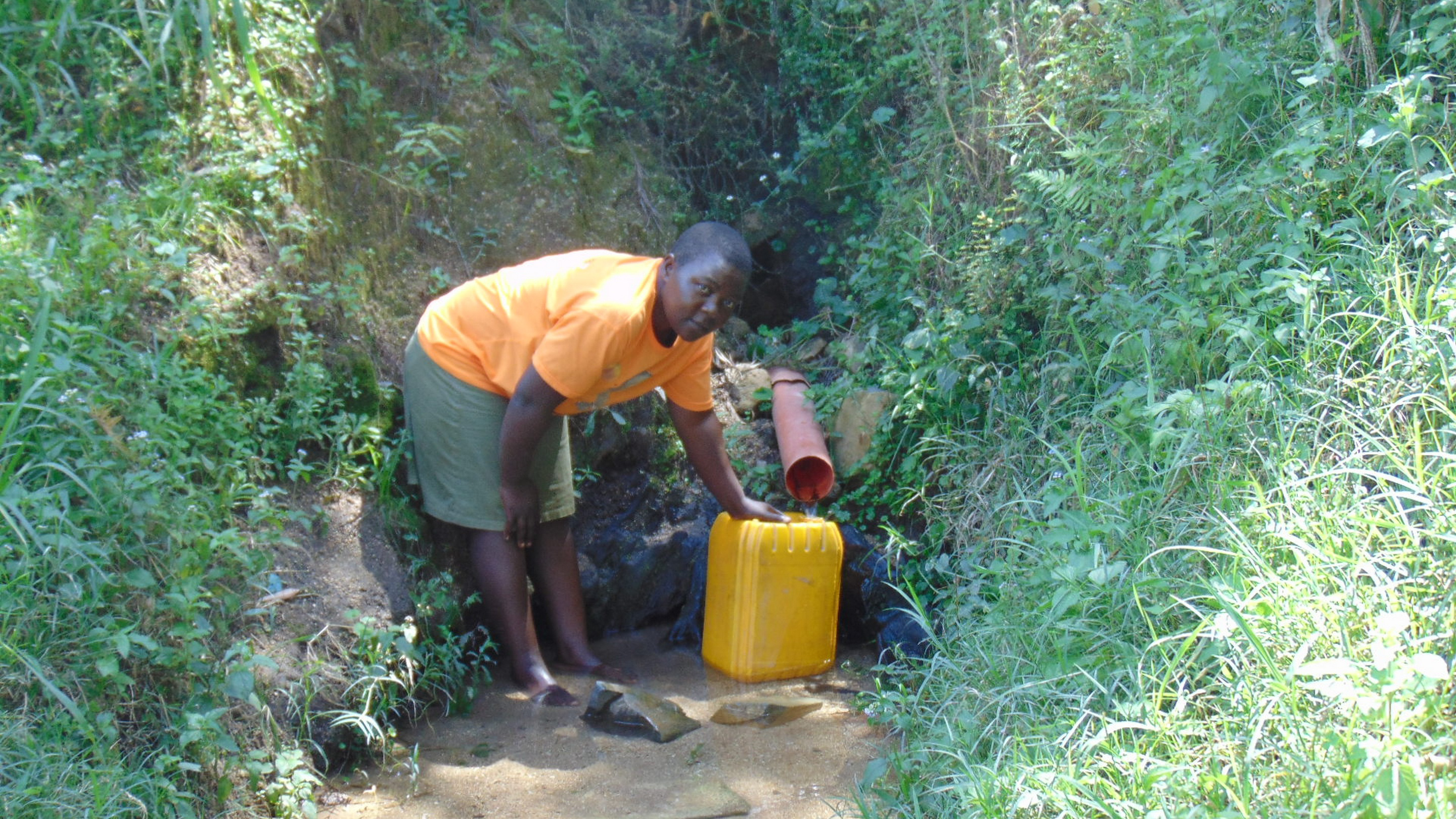 The Water Project : 9-kenya19117-fetching-water